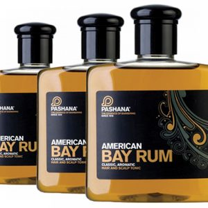 Pashana Bay Rum hair and scalp tonic